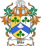 Pike Coat of Arms, Family Crest