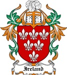 Ireland Coat of Arms, Family Crest