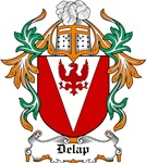 Delap Coat of Arms, Family Crest