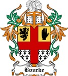 Bourke Coat of Arms, Family Crest