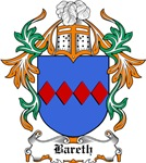 Bareth Coat of Arms, Family Crest