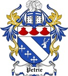 Petrie Coat of Arms, Family Crest
