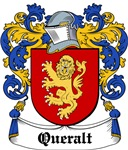 Queralt Coat of Arms, Family Crest