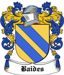 Baides Coat of Arms, Family Crest