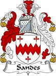 Sandes Family Crest