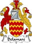 Delamare Family Crest