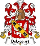 Delacourt Family Crest