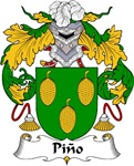 Pino Family Crest