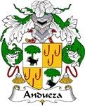Andueza Family Crest