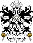 Gwdinwch Family Crest