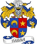 Fabra Family Crest / Fabra Coat of Arms