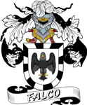 Falco Family Crest / Falco Coat of Arms