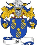 Gil Family Crest / Gil Coat of Arms