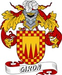Giron Family Crest / Giron Coat of Arms