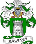 Salazar Family Crest / Salazar Coat of Arms