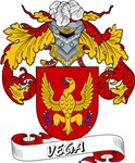 Vega Family Crest / Vega Coat of Arms