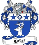 Cader Family Crest, Coat of Arms