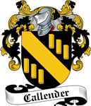 Callender Family Crest, Coat of Arms