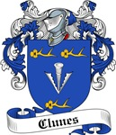 Clunes Family Crest, Coat of Arms