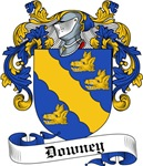 Downey Family Crest, Coat of Arms