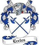 Eccles Family Crest, Coat of Arms