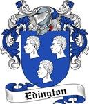 Edington Family Crest, Coat of Arms