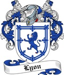 Lyon Family Crest, Coat of Arms