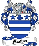 Madder Family Crest, Coat of Arms