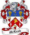 McLeah Family Crest, Coat of Arms