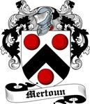 Mertoun Family Crest, Coat of Arms