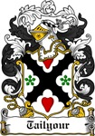 Tailyour Family Crest, Coat of Arms