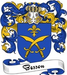 Besson Family Crest, Coat of Arms