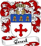 Gerard Family Crest, Coat of Arms