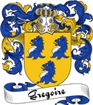 Gregoire Family Crest, Coat of Arms