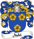 Mahé Family Crest, Coat of Arms
