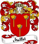 Maillet Family Crest, Coat of Arms