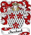 Marchand Family Crest, Coat of Arms