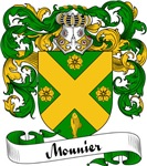 Mounier Family Crest, Coat of Arms