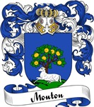 Mouton Family Crest, Coat of Arms