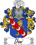 Doni Family Crest, Coat of Arms