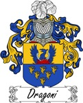 Dragoni Family Crest, Coat of Arms