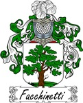Facchinetti Family Crest, Coat of Arms