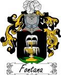 Fontana Family Crest, Coat of Arms