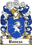 Boncza Family Crest, Coat of Arms