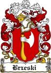 Brzeski Family Crest, Coat of Arms