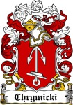 Chrynicki Family Crest, Coat of Arms