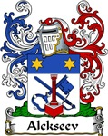 Alekseev Family Crest, Coat of Arms