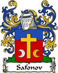 Safonov Family Crest, Coat of Arms