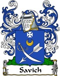 Savich Family Crest, Coat of Arms