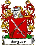 Sergeev Family Crest, Coat of Arms
